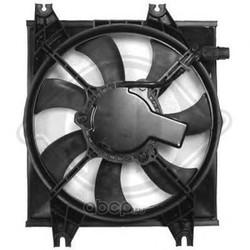 Вентилятор, конденсатор кондиционера (DIEDERICHS) 6832001