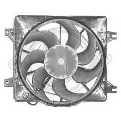 Вентилятор, конденсатор кондиционера (DIEDERICHS) 6830001