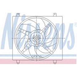 Вентилятор, охлаждение двигателя (Nissens) 85362