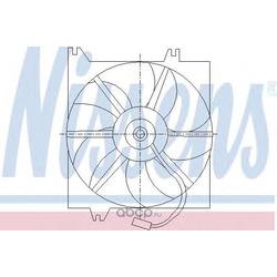Вентилятор, охлаждение двигателя (Nissens) 85085
