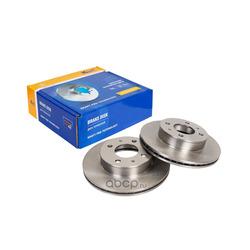 Диск тормозной передний (Kraft) KT016021