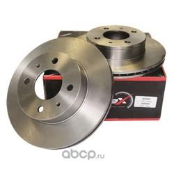 Диск тормозной передний вентилируемый (KORTEX) KD0006