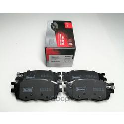 Колодки тормозные дисковые передние (BAPCO) BP0611