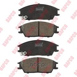 Колодки тормозные дисковые передние (BAPCO) BP0045