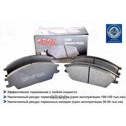Колодка дискового тормоза (ASIN) ASINBF2132