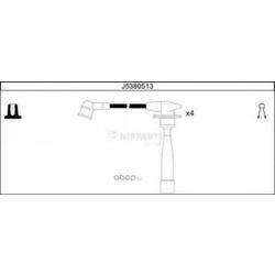 Комплект проводов зажигания (Nipparts) J5380513