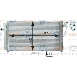 Конденсатор, кондиционер (HELLA) 8FC351303171