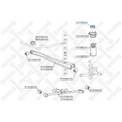 Опора стойки амортизатора (Stellox) 1251003SX