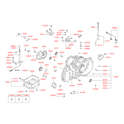 Поддон картера АКПП (Hyundai-KIA) 4528022701