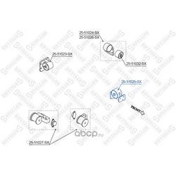 Подушка ДВС передняя (Stellox) 2551025SX