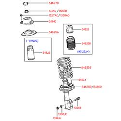 Пружина подвески (Hyundai-KIA) 5463022550