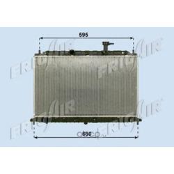 Радиатор (FRIG AIR) 01283108