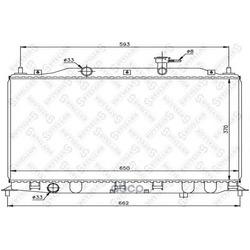 Радиатор (Stellox) 1026614SX