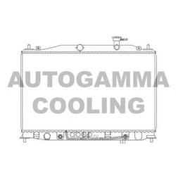 Радиатор (AUTOGAMMA) 104827