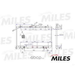 Радиатор (Miles) ACRM066