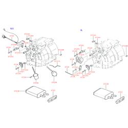 Радиатор в сборе (Hyundai-KIA) 9722122000