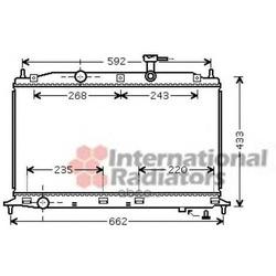 Радиатор, охлаждение двигателя (Schlieckmann) 60822188