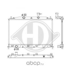 Радиатор, охлаждение двигателя (DIEDERICHS) DCM3702