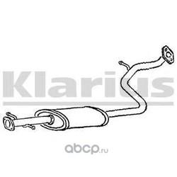 Средний глушитель выхлопных газов (KLARIUS) HY90V