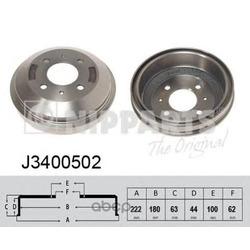 Тормозной барабан (Nipparts) J3400502