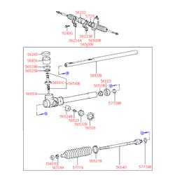 Шариковый подшипник D34ММ (Hyundai-KIA) 5655222000