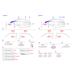 Эмблема заводская (Hyundai-KIA) 8632225500