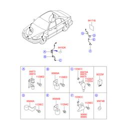 Деталь (Hyundai-KIA) 9567125000