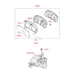 Деталь (Hyundai-KIA) 943691G000