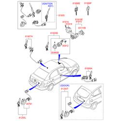 Деталь (Hyundai-KIA) 819101G020