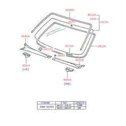 Деталь (Hyundai-KIA) 8612128A00