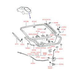 Деталь (Hyundai-KIA) 8732122210