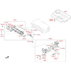 Деталь (Hyundai-KIA) 284922A100