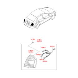Деталь (Hyundai-KIA) 924011E088