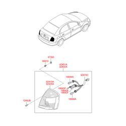 Деталь (Hyundai-KIA) 924011E020