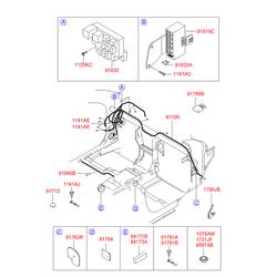 Деталь (Hyundai-KIA) 9182025A01