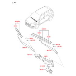 Деталь (Hyundai-KIA) 983803N050