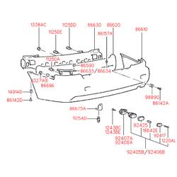 Деталь (Hyundai-KIA) 9240522210