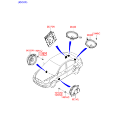 Деталь (Hyundai-KIA) 963311E060