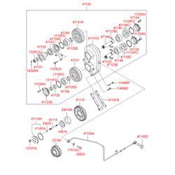Деталь (Hyundai-KIA) 1310612001