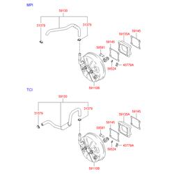 Деталь (Hyundai-KIA) 5911025510