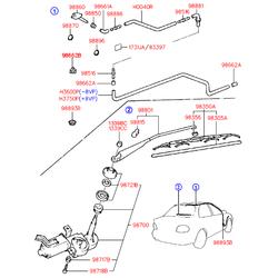 Деталь (Hyundai-KIA) 9886022000