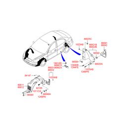 Деталь (Hyundai-KIA) 868421E200