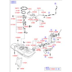 Деталь (Hyundai-KIA) 310101G800