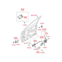 Деталь (Hyundai-KIA) 826101E020WK