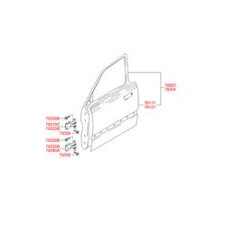Деталь (Hyundai-KIA) 7600325020