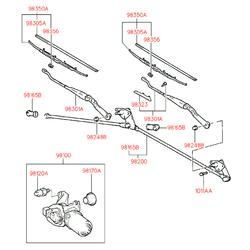 Деталь (Hyundai-KIA) 9810029000