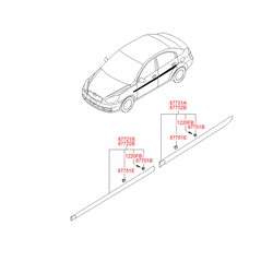Деталь (Hyundai-KIA) 877311E010CA