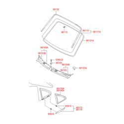 Деталь (Hyundai-KIA) 861214A000
