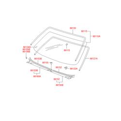 Деталь (Hyundai-KIA) 8612139500