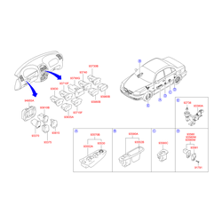 Накладка (Hyundai-KIA) 9364525000